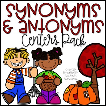 Falling into Synonyms & Antonyms