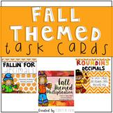 Fall Themed Task Cards {Bundle}