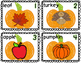 Fall Task Cards for Syllables