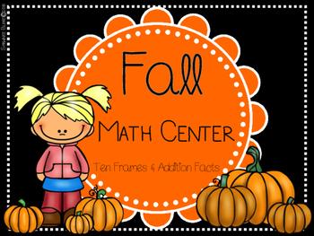 Fall-Themed Ten Frame Center