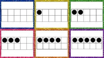 Fall Themed Ten Frame Matching Cards