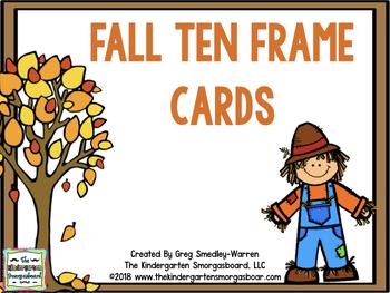 Fall Themed Ten Frames!
