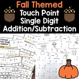 Fall Touch Number Addition/Subtraction