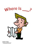 """Fall Themed Vocabulary/Preposition Book - """"Where Is...?"""" -"""