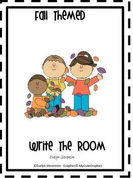 Fall Themed Write the Room