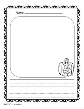 Fall Themed Writing Pack
