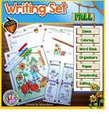 Fall Themed Writing Set K-3
