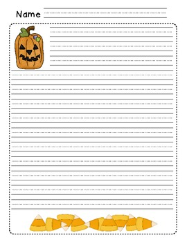 Fall Themed Writing Stationery