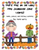 Fall-There Was an Old Lady Who Swallowed Some Leaves! Book Activities