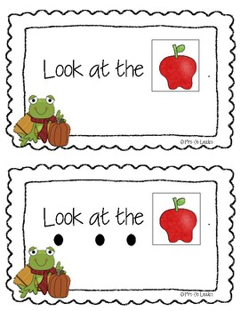 Fall Things: Sight Word Early Reader