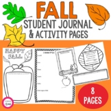 Fall Think Book Student Journal