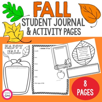 Fall Think Book Guided Journal