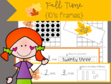 Fall Time 10's Frames {Building Number Sense}