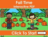 Fall Time Distance Learning Interactive PDFs