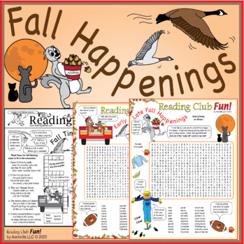 Fall Times and Rhymes Packet
