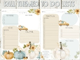 Fall To Do List - Planner Page