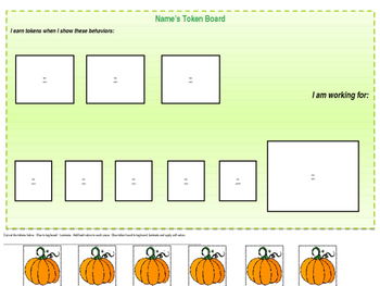 Fall Token Boards (EDITABLE)