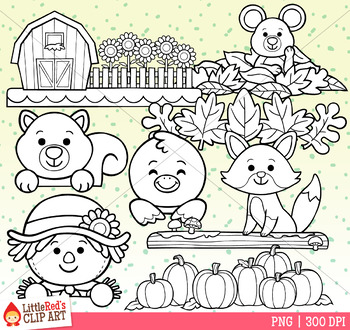 Fall Toppers Clip Art