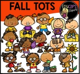Fall Tots Clip Art Bundle {Educlips Clipart}