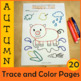 Fall Trace and Color Pages