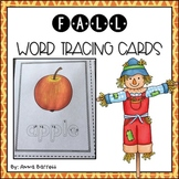 Fall Tracing Cards