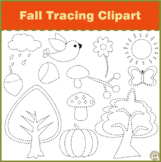 Fall Tracing Clipart