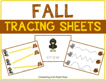 Fall Tracing Sheets