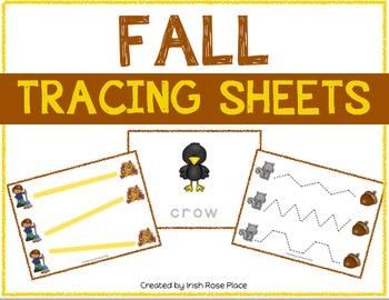 Fall Tracing Sheets
