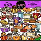 Fall Treats Clip Art Bundle {Educlips Clipart}