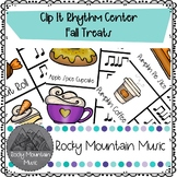 Fall Treats Clip It Music Center
