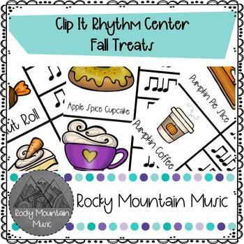 Fall Treats Clip It Music Center