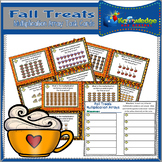 Fall Treats Multiplication Arrays Task Cards With Response Sheet & Answer Key