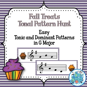 Fall Treats Tonal Pattern Hunt - G Major