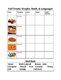 Fall Treats_Comparing/Contrasting, Graphing, & Describing!