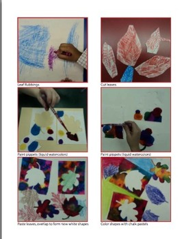 Fall Collage Lesson