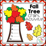 Fall Tree Craft | Writing | Fall Activities | Acrostic Poem | Autumn Leaves
