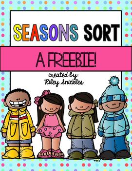 Seasons Sort FREEBIE
