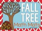 Fall Tree Math Mats