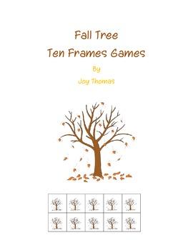 Fall Tree Ten Frames Games
