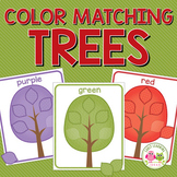 Fall Trees Color Sorting Activities