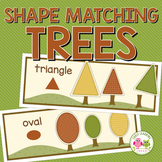Fall Trees Shape and Size Sorting Activity:  Autumn Tree and Leaves