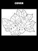 Fall Trio of Leaves, Mushroom, and Acorn - MOONJU MAKERS Printable