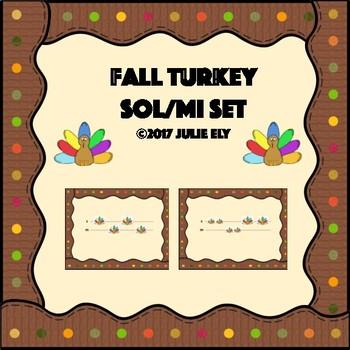 Fall Turkey Sol/Mi Set