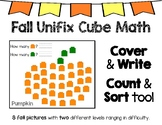 Fall Activity Unifix Cube Math