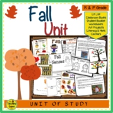 Fall Unit:  Activities & Centers