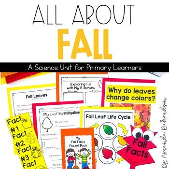 Fall Unit: Activity Sorts, Fall Leaf Life Cycle, Interacti