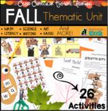 Autumn Fall Thematic Unit