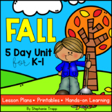 Fall Unit for Kindergarten and First Grade