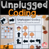 Fall Unplugged Coding Activity for Beginners (English & French)