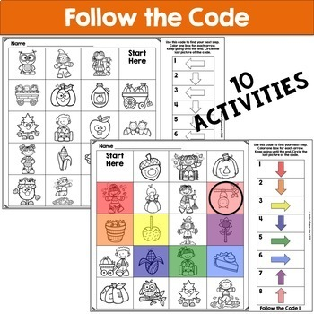 Fall Unplugged Coding for Beginners